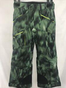 Obermeyer Green Adjustable Extended Wear System Teen Medium Ski Snowboard Pants