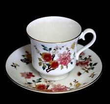 Vintage Royal Albert China Garden New Romance teacup and saucer duo set