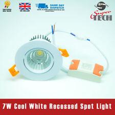 7W Led Cob Light Spot light Recessed Ceiling Light Cool White AC220-240V 50/60Hz