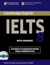 Cambridge IELTS 8 Self-study Pack (Student's Book with Answers and Audio CDs