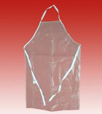 Transparent Clear Vinyl Waterproof Apron Heavy Duty Kitchen Restaurant Cooking