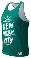 New Balance Men's 2018 NYC Marathon Singlet Green