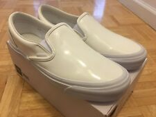 Vans x Opening Ceremony OC SlipOn - Patent Leather - White - Size 9 - New In Box
