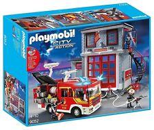Playmobil 9052 Feuerwehr-Mega-Set City Action Neu & Ovp mit LKW, Haus & Pumpe
