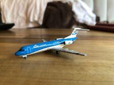 1:400 Gemini Jets KLM Cityhopper Fokker F-70 (New Colors) GJKLM1525