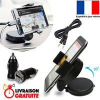 PACK SUPPORT VOITURE + CHARGEUR + PRISE JACK POUR SAMSUNG GALAXY S8 S9 S7 J3 J5