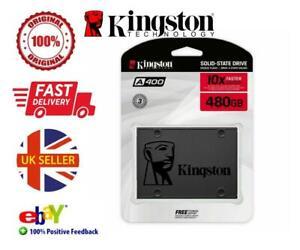 Kingston 120GB 240GB 480GB SSD A400 Solid State Hard Drive 2.5 Inch SATA 3.0 New