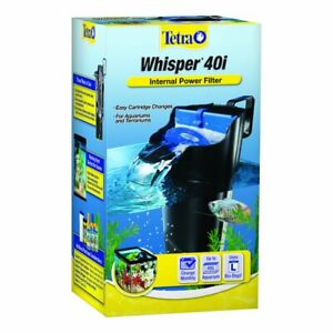 Whisper In-Tank Filter 40i With BioScrubber For 20 40 Gallon Aquariums