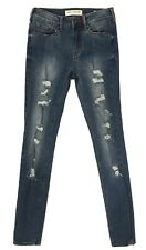 Bullhead Ladies High Rise Skinniest Jeans Blue Size 1