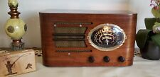 Vintage Detrola AM/SW Tube Radio 159X (1937)  ***RARE & BEAUTIFULLY RESTORED***