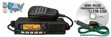 Yaesu FTM-3200DR VHF Mobile Transceiver w/ RT Systems Prog. Software/Cable Kit