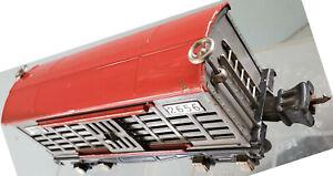 Lionel 2656 Cattle Car Red Roof Gray Door Nickel Trim Excellent 1938
