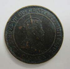 1910 One Cent King Edward VII Canada -- Free Shipping *