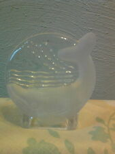 PartyLite Whale Tea Light Candle Holder Retired P0394