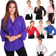 Camisas y tops de mujer blusa de poliéster de talla única