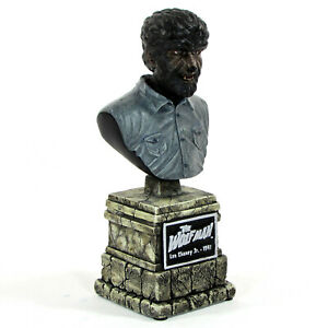 """Sideshow Collectibles THE WOLF MAN 6.5"""" Bust Lon Chaney Universal Monsters"""