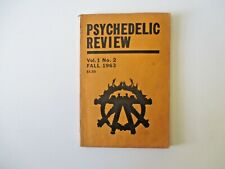 Psychedelic Review Vol. 1 No. 2 Fall 1963 Timothy Leary