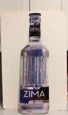 "Zima Tin Sign 1993 Signet Graphic Products 30"" Tall"