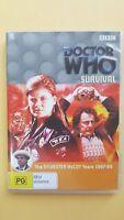 Doctor Who - Survival - S. McCoy [ 2 DVD Set ] LIKE NEW, Region 4, FREE Post