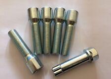 5 X Sintonizador M14X1.25 Aleación Pernos De Rueda + llave 38 mm del hilo de rosca se adapta Mini ver lista