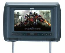 "SAVV 9"" Wide Headrest Video Monitor with Multimedia Disc & Digital Media Player"