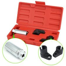 3Pcs Car Oxygen Sensor 6 Point  Socket Wrench O2 Tool Remover Installer Kit Set