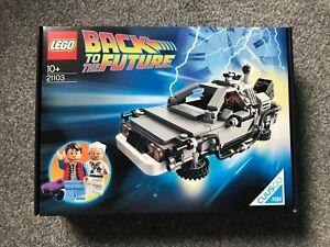 LEGO Back To The Future 21103 The DeLorean Time Machine - Brand New