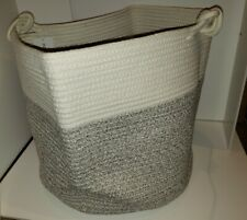 Large rope Basket -  Storage, Laundry, Toys, Clothes, Blankets,  beach