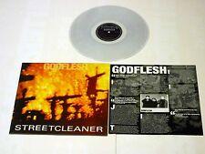 "Godflesh ""Streetcleaner"" Transparent Vinyl - Remastered NEW Ltd to 500 Copies!"