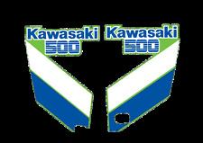 1987 Kawasaki KX 500 Radiator Shroud Decals