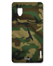CUSTODIA COVER CASE TRAMA MILITARE PER LG OPTIMUS G E975