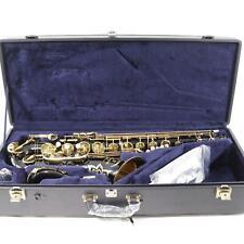 Yamaha Model YTS-82ZIIB Customer Tenor Saxophone in BLACK LACQUER! SN AE84793