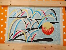 "DAVID HOCKNEY ""A Bounce for Bradford"" (1987) - Limited Edition Plate Signed"