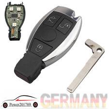 Für Mercedes Benz Jahren 2000 BGA & NEC 433MHz Autoschlüssel Ersatz Gehäuse Neu