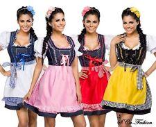 Markenlose Damen-Trachtenkleider & -Dirndl Maschinenwäsche aus Baumwolle