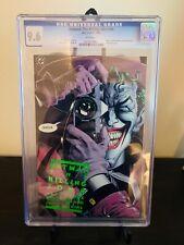 Batman The Killing Joke #1 CGC 9.6 NM+ 1st Print Joker Cripples Barbara Gordon