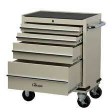 HILKA TOOL TROLLEY 4 DRAWER CLASSIC CAR TOOL STORAGE CHEST CL4DT