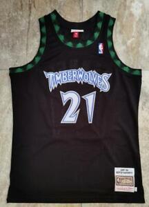 Kevin Garnett Timberwolves #21 Jersey Adult size S M L XL XXL Available