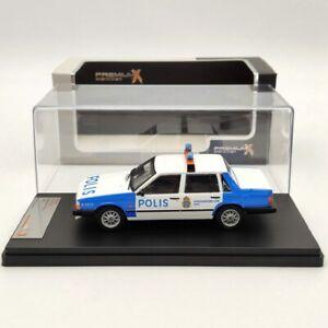 1:43 Premium X Volvo 740 Stockholm Police PRD439 Diecast Models Car Collection