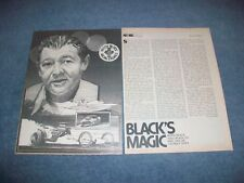 "1979 Engine Builder Keith Black Vintage Profile Article ""Black's Magic"""