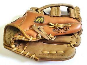 VTG MIZUNO 2054 Full Grain Leather MM110 Baseball Glove North American Steerhide