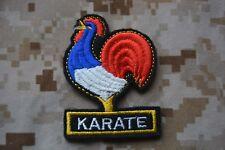 Y10 écusson insigne patch badge karaté art martial japonais sport de combat