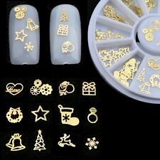 120pcs Tips DIY Decoration Wheel Nail Art 3D Decal Glitters Acrylic Stickers