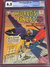 WORLD'S FINEST 93 CGC 6.5 Batman Superman Edmond Hamilton 1958