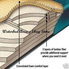 Queen COMFORT SUPREME Waveless Waterbed Mattress for Hardside water beds