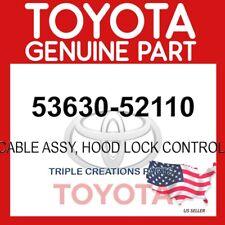 5363052110 GENUINE Toyota CABLE ASSY, HOOD LOCK CONTROL 53630-52110 OEM