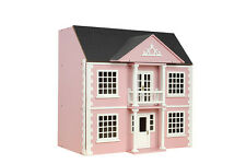 1:12 Scale Streets Ahead Dolls House Pink Painted Newnham Manor House Kit