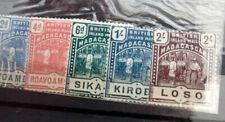 BRITISCHE GEBIETE MIT MALTA, RUSSISCHE POST KRETA, MADAGASKAR - INT.MARKEN