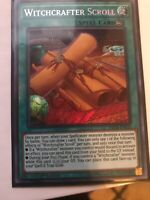 Yugioh! Witchcrafter Scroll - INCH-EN025 - Secret Rare - 1st Edition Near Mint,