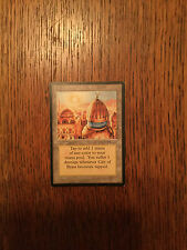 mtg City of Brass, Arabian Nights, Magic the Gathering